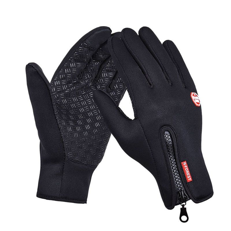 Men Classic Winter Leather Gloves Touch Screen Gloves Male Army Guantes Tacticos Accessories