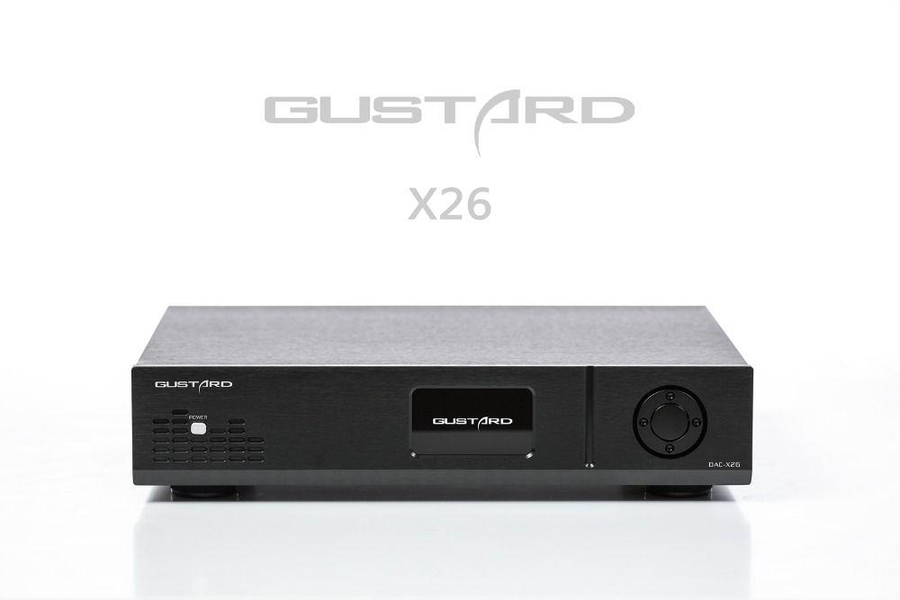 GUSTARD DAC-X26 DAC Dual ES9038PRO DSP PLL Native Ausgewogene Decoder