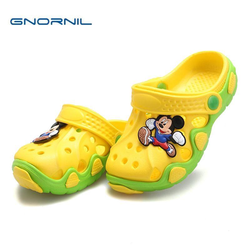 Enfants d'été Chaussures Filles Garçons Pantoufles Mignon de Bande Dessinée Confortable Mode Enfants Pantoufles Anti-Slip Filles Pantoufles Plage Chaussures