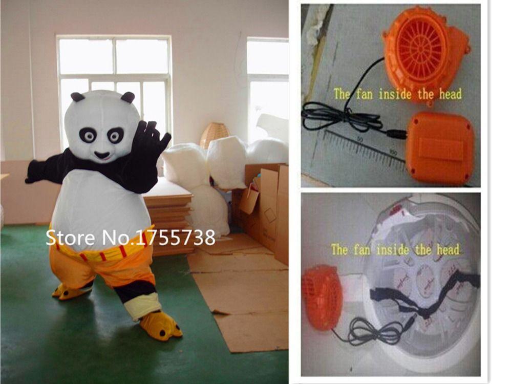 Adult size Kungfu panda Mascot costume Kung Fu Panda Mascot costume Kungfu panda