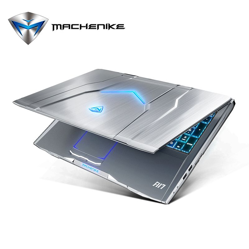 Machenike F117-F2K Gaming Laptop Intel Core i7-7700HQ GTX1050Ti 4G GDDR5 8G RAM 1TB HDD 15.6