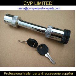 TOW bar tongue hitch pin lock locks removable trailer ball mount 5/8