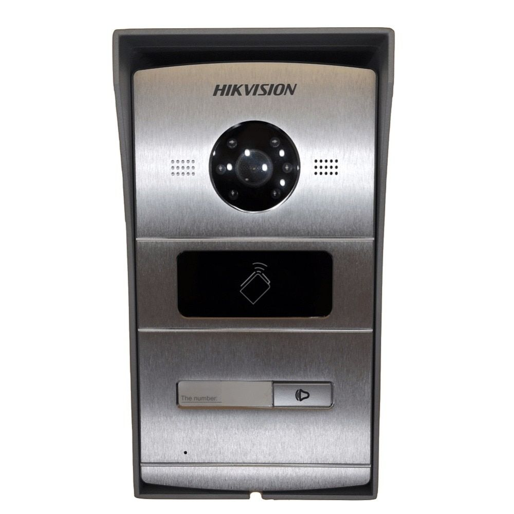 Includes Mounting box,Hikvision DS-KV8102-1A(DS-KV8102-IM) ,Visual intercom doorbell waterproof,IC card,IP intercom