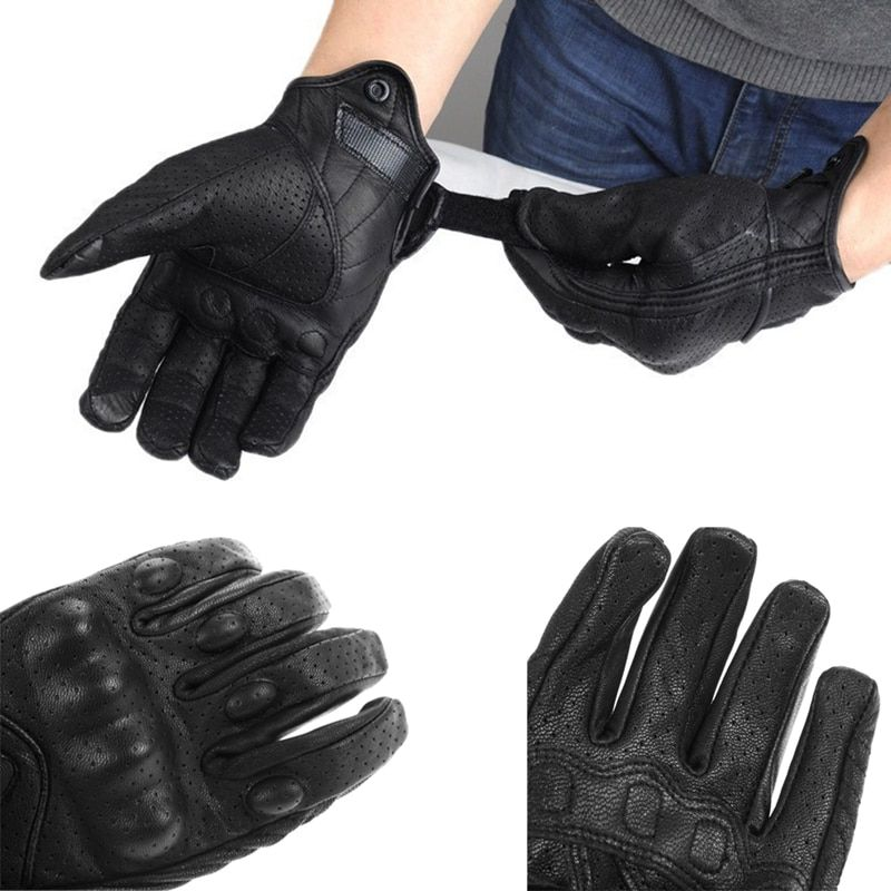 Knight Protective Gear Biker Carbon Fiber Bike <font><b>Motorcycle</b></font> Motorbike moto Breathable Mesh Fabric Racing Cycling Gloves M L XL