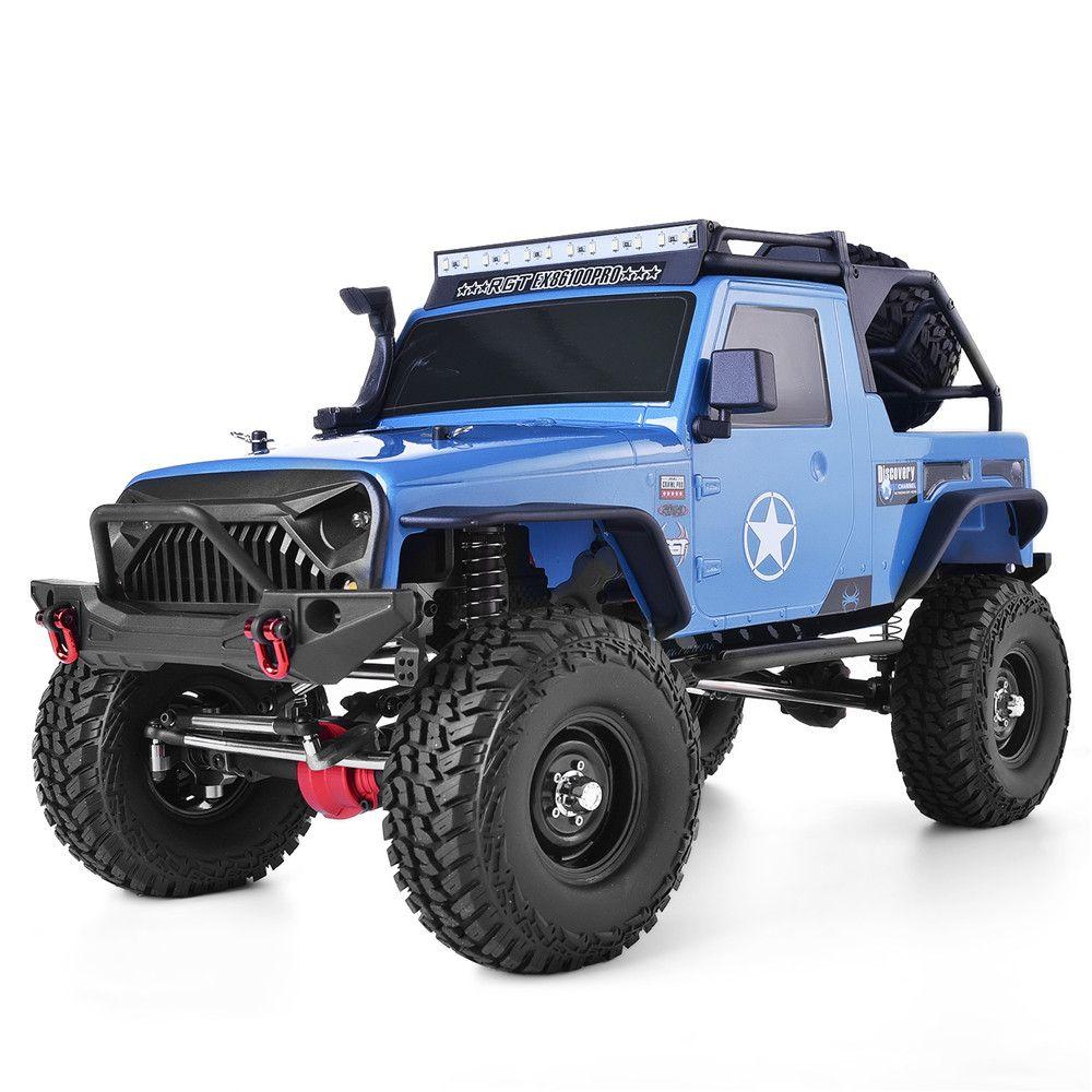 RGT RC Crawler Rahmen 1:10 Skala 4wd Rock Crawler Off Road Lkw RC Rock Cruiser EX86100PRO 4x4 Wasserdicht RC Auto Spielzeug für Kinder