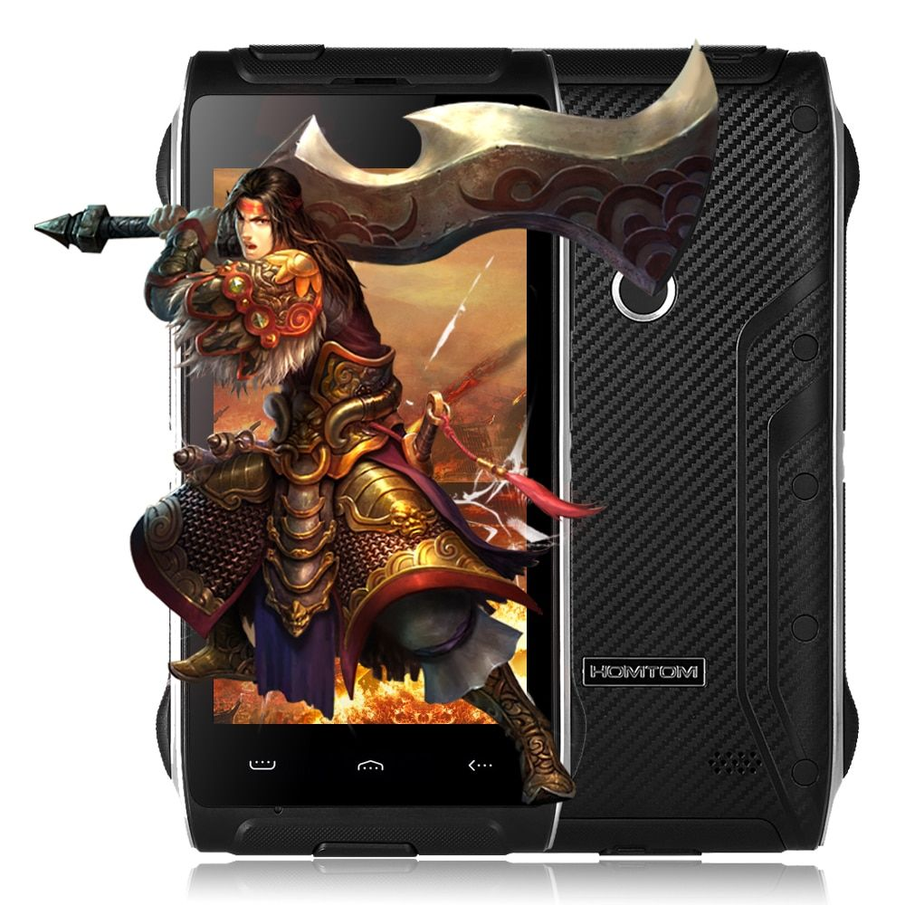 HOMTOM HT20 Pro 4G Smartphone 4.7 inch Android 6.0 MTK6753 Octa Core 1.3GHz 3GB RAM 32GB ROM Fingerprint 13.0MP Camera Cellphone
