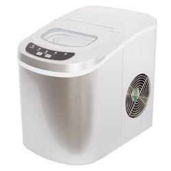 Venta caliente portátil mini cubo de hielo fabricante encimera control táctil 26 lb/día máquina de hielo para el hogar y bar-plata