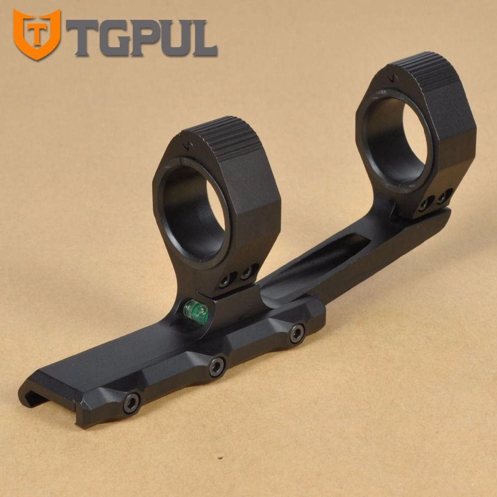 TGPUL 25.4mm 30mm Rings Cantilevel Scope Mount Dual Ring Square Stop Lugs Optic Picatinny Mount  2 PEPR Eye Relief Extend