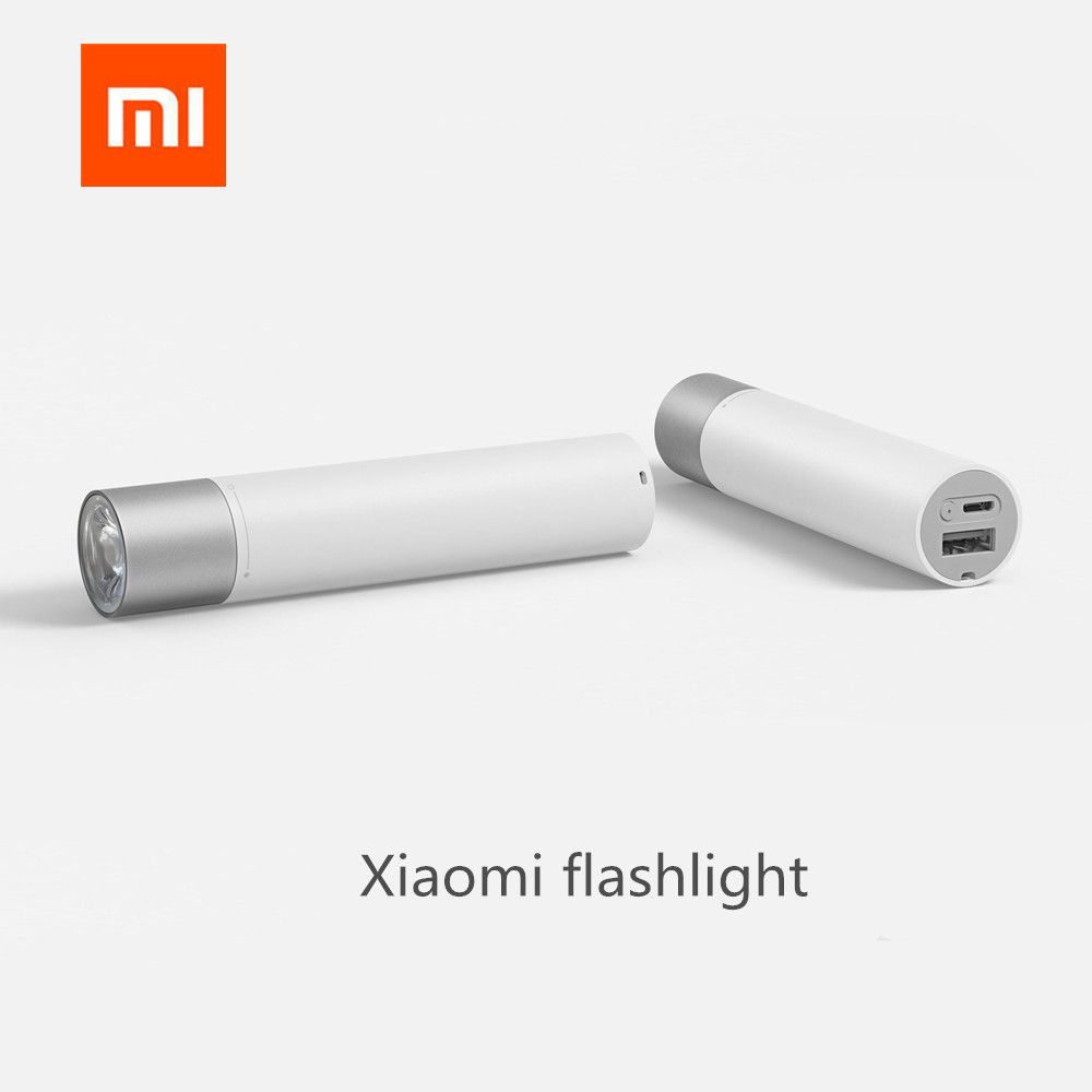 Xiaomi Portable Flash light 11 Adjustable Luminance Modes With <font><b>Rotatable</b></font> Lamp Head 3350mAh Lithium Battery USB Charging Port