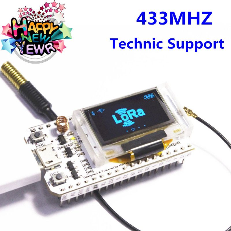433MHZ ESP32 LoRa SX1278 esp32 led 0.96 Inch Blue OLED Display Bluetooth WIFI Lora Kit 32 433MHZ Development Board for Arduino