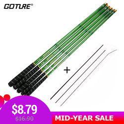 Goture поток удочка 3.0м - 7.2 м углерода волокно удочка телескопическая рука полюс для карпа рыбалка фидер удилище, удочки для зимней рыбалки, нах...