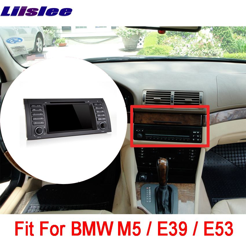 Liislee Android Touch Screen Car GPS For BMW M5 / E39 / E53 Navigation Bluetooth Video player Support WiFi FM