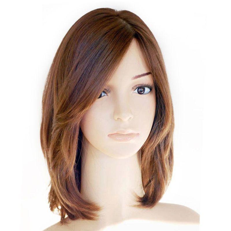 Kosher Jewish Wig Silk Base Lace Front Human Hair Wigs With Baby Hair European Virgin Hair Wig Short Frontal Wig Prosa Hair