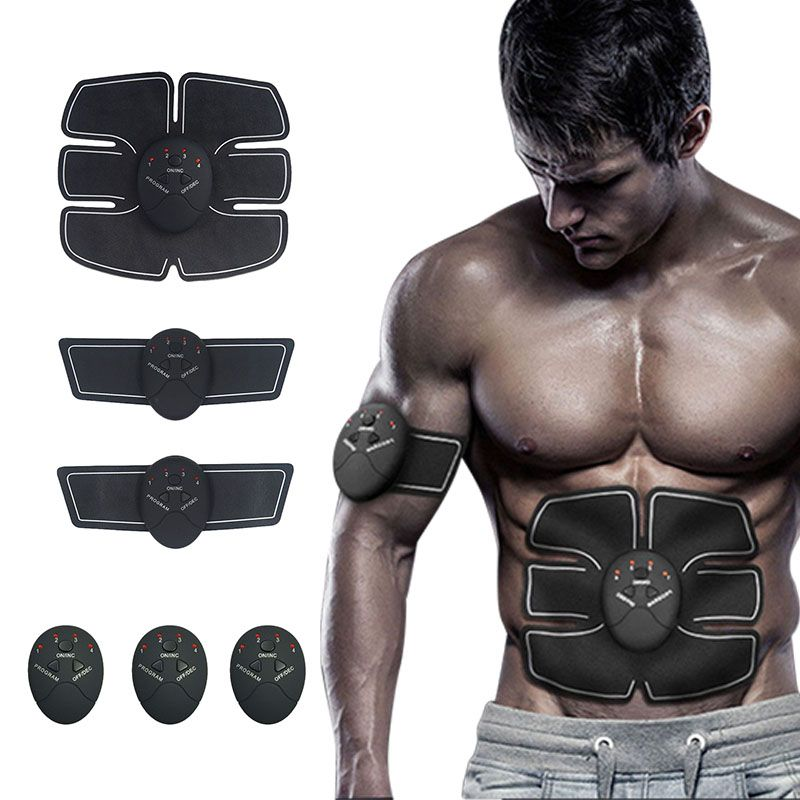 Smart Fitness Muscle Stimulator Abdominal For <font><b>training</b></font> apparatus Electric Muscle Belly exercises Gym Equipment Free shipping