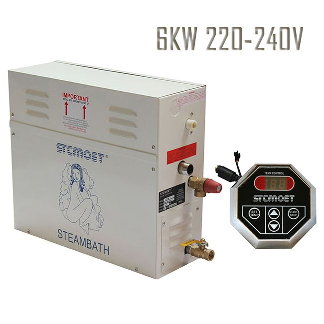 Free shipping Promotion prices 6KW 220-240V Home RESIDENTIAL ,Fast-Response Safe, Quite, AND WATER INLET ELECTROMAGNETIC VALVES