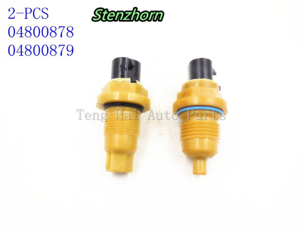 Stenzhorn For A604 41TE A606 42LE New Input & Output Speed Sensor 2 Piece Kit 604 606 Turbine