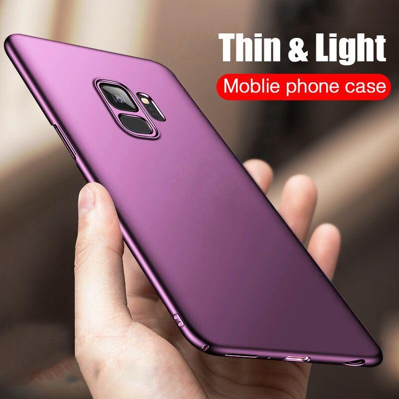 H & A Luxus Schlank PC Bereifte Harte Schutzhülle Für Samsung Galaxy S9 S9 Plus Volle Abdeckung Fall Für Samsung S9 Plus Telefon abdeckung