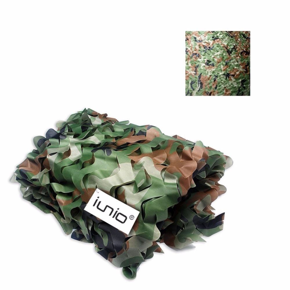 Camo Netting 5 Colors 10M X 1.5M Hunting Camping Jungle Sun Shade Cloth Tarp Tent for Car-Covers Camouflage Military Nets