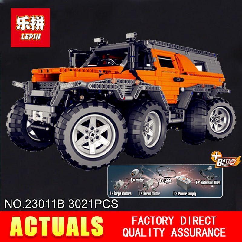 New LEPIN 23011B 3021Pcs Technic Series Off-road vehicle Model Building Kits Block Educational Bricks Compatible Toys Gift 5360
