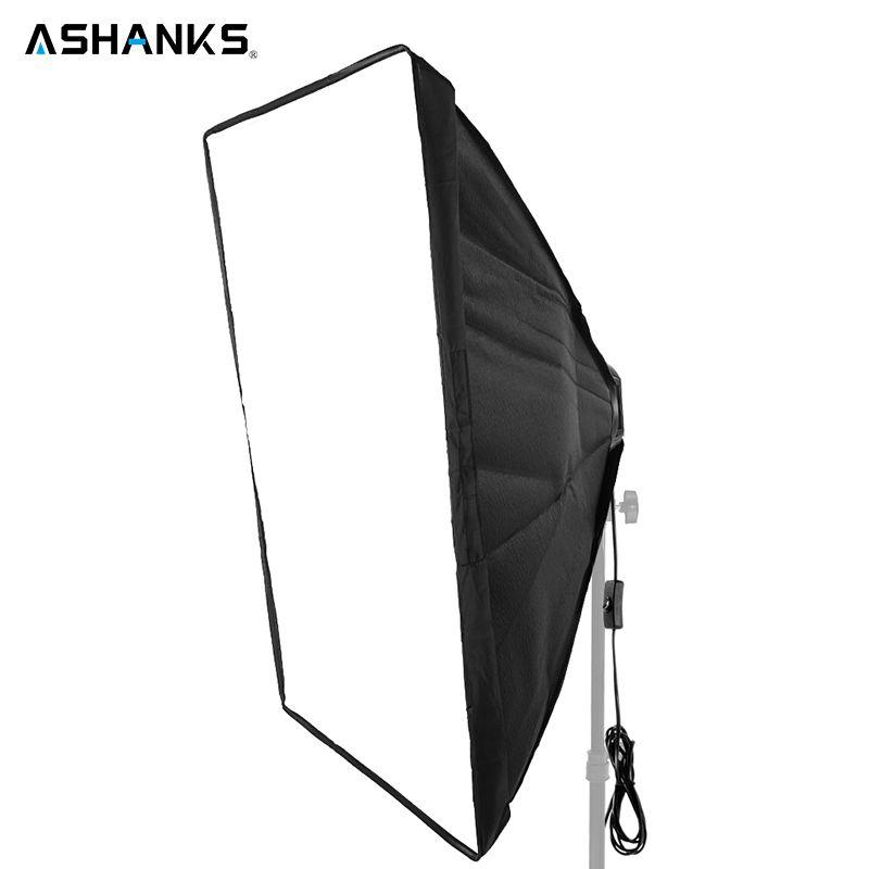 ASHNAKS 50x70cm Photo Studio Softbox Photographic Equipment Fotografica Tent with Single Lamp Holder for E27 Continuous Lighting