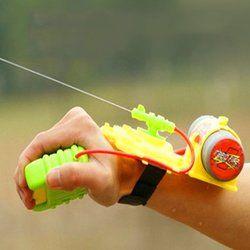 Water Gun Toy Backpack ABS 4 Meters Range Wrist Water Gun Beach Toy Outdoor Swimming Pool Sprinkling Water Children Shooter Toys