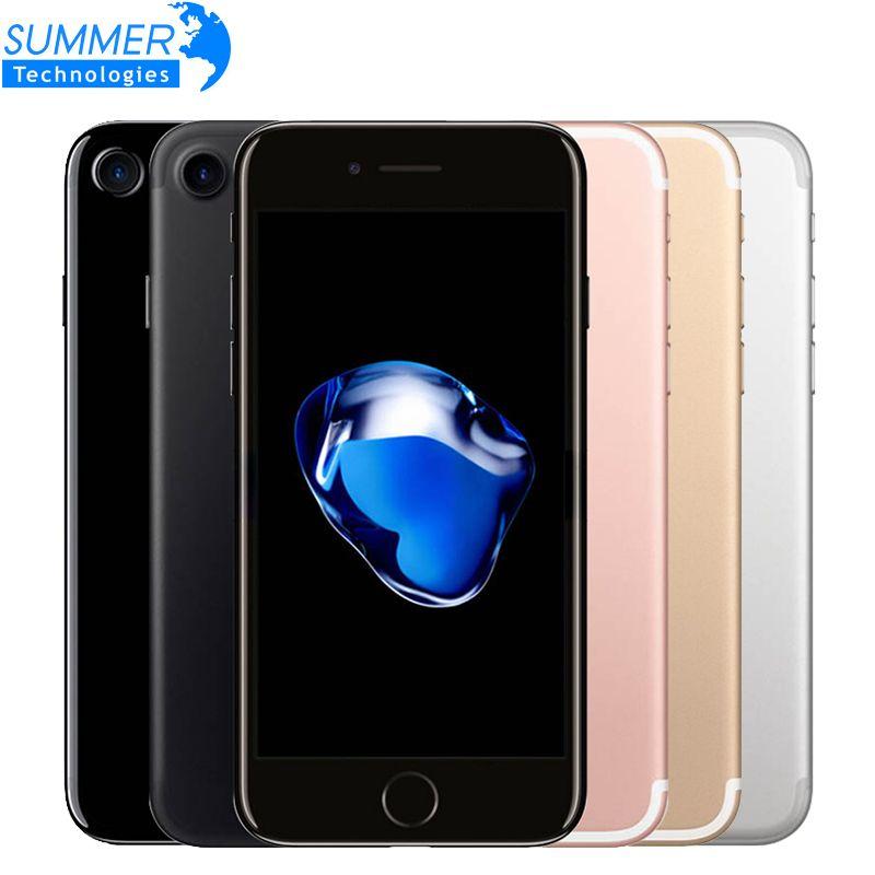 Original Apple iPhone 7 4G LTE handy Quad Core 2 GB RAM 32G/128/256 GB IOS 12.0MP Fingerabdruck-handys