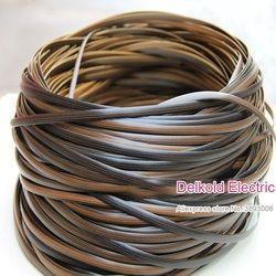 500g Kaffee gradienten flache synthetische rattan weben material kunststoff rattan für stricken und reparatur stuhl tisch synthetische rattan