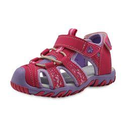 Apakowa nuevo deporte playa sandalias del recorte del verano Zapatos de los niños del niño Sandalias cerrado dedo del pie sandalias niñas zapatos UE 21 -32