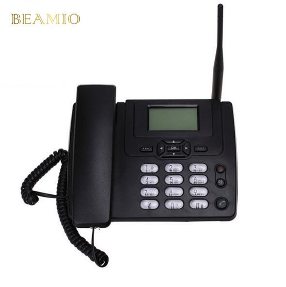 GSM ETS3125i Festen GSM Handy Desk Festnetztelefon Mit FM Radio 900/1800 MHz Fixed Wireless Telefon Hause Schwarz