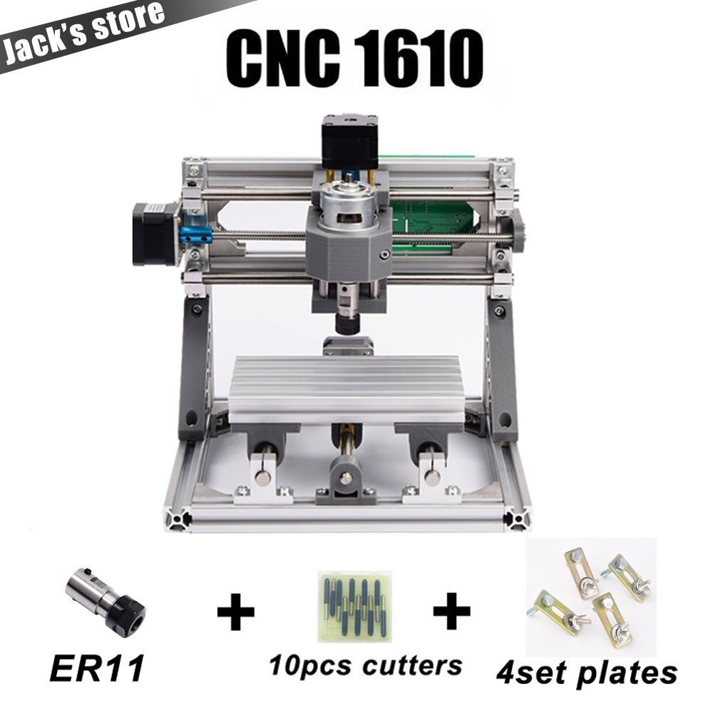 CNC 1610 with ER11,diy cnc engraving machine,mini Pcb <font><b>Milling</b></font> Machine,Wood Carving machine,cnc router,cnc1610,best Advanced toys