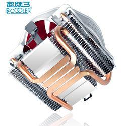 Pccooler V6 4 Медь теплопроводов холодильник Процессор процессорный кулер для AMD Intel 775 1150 1151 1155 1156 Процессор радиатора 120 мм 4pin вентилятор для охла...