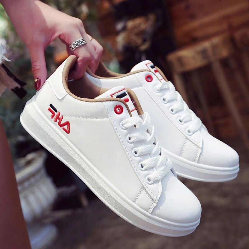 Skateboarding Shoes men women low top flat pu leather Fitness Flats super light all color Trainers lover basket walking sneakers