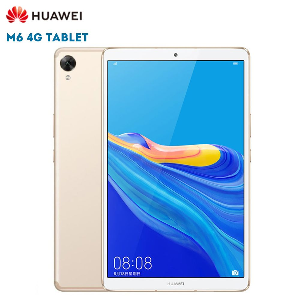 Original HUAWEI M6 4G Tablet PC 8,4 zoll Android 9.0 Hisilicon Kirin 980 Octa Core 13.0MP Kamera