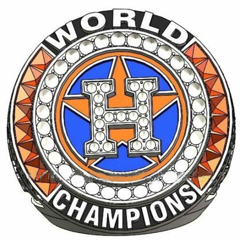 Wholesale 2017 Houston Astros Major League Baseball custom sports Replica Men world Championship Ring