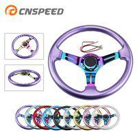 CNSPEED Neo хром New 350 мм 14 inch рулевое колесо ABS руль