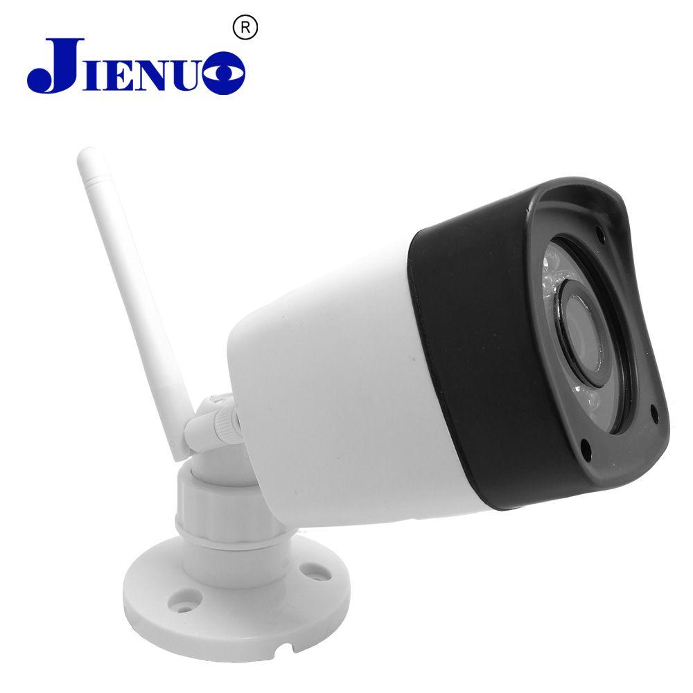 Caméra ip wifi 720 p cctv sécurité sans fil HD caméra système de surveillance maison intérieure extérieure étanche vidéo caméra wi-fi ipcam JIENU