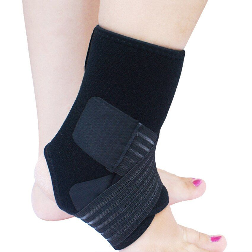 Ankle Protection Bandage Brace Ankle Support Elastic Guard Foot Splint Tendon Sprain Injury Brace Wraps Pads For Foot Injuries