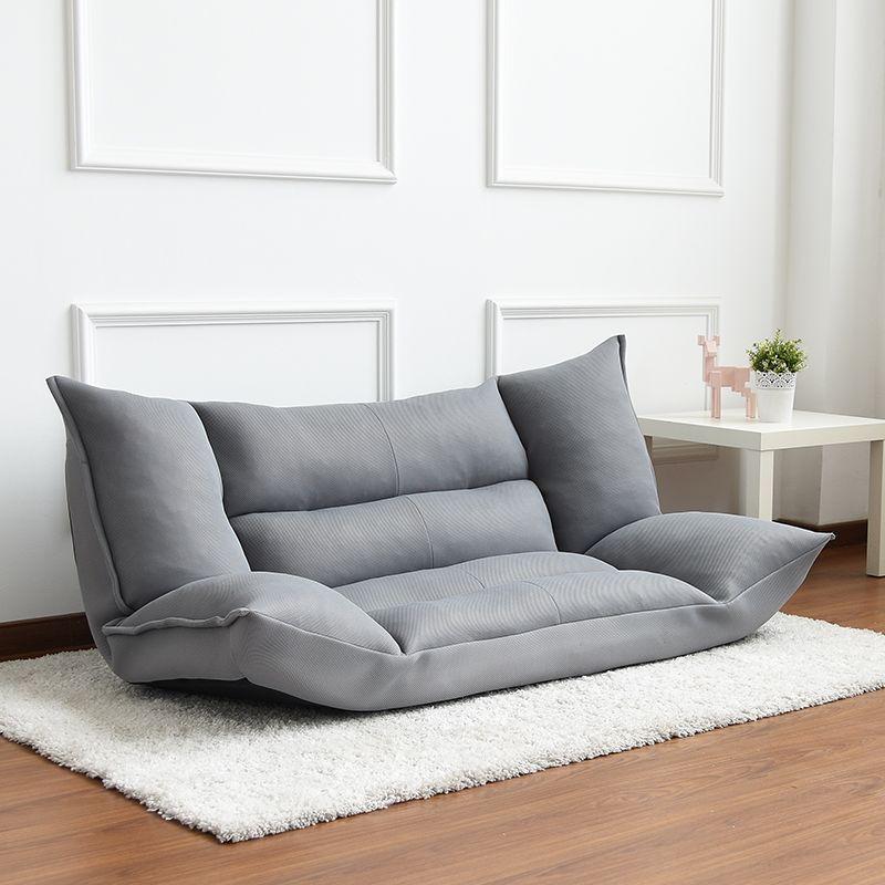 Verstellbare Falten Cabrio Sofa Boden Stuhl Liege Bett w/Armlehnen Für Freizeit Haus oder Büro Möbel Daybed Sleeper