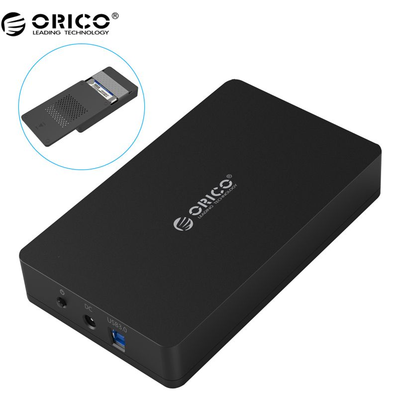 ORICO 3569S3 3.5 inch Hard disk box Sata 3.0 USB 3.0 HDD Case <font><b>Tool</b></font> Free Support UASP Protocols ORICO Hard Drive Enclosure