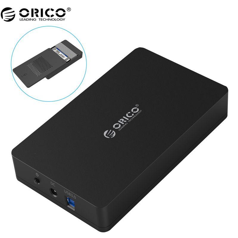 ORICO 3569S3 3.5 inch Hard disk box Sata 3.0 USB 3.0 HDD Case Tool Free Support UASP Protocols ORICO Hard Drive Enclosure