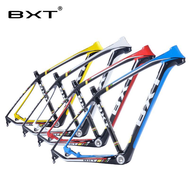 2018 marke neue BXT mtb carbonrahmen 29er 3 karat mountainbikes rahmen 17,5 ''19'' bicicletas mountainbike 29 freies verschiffen