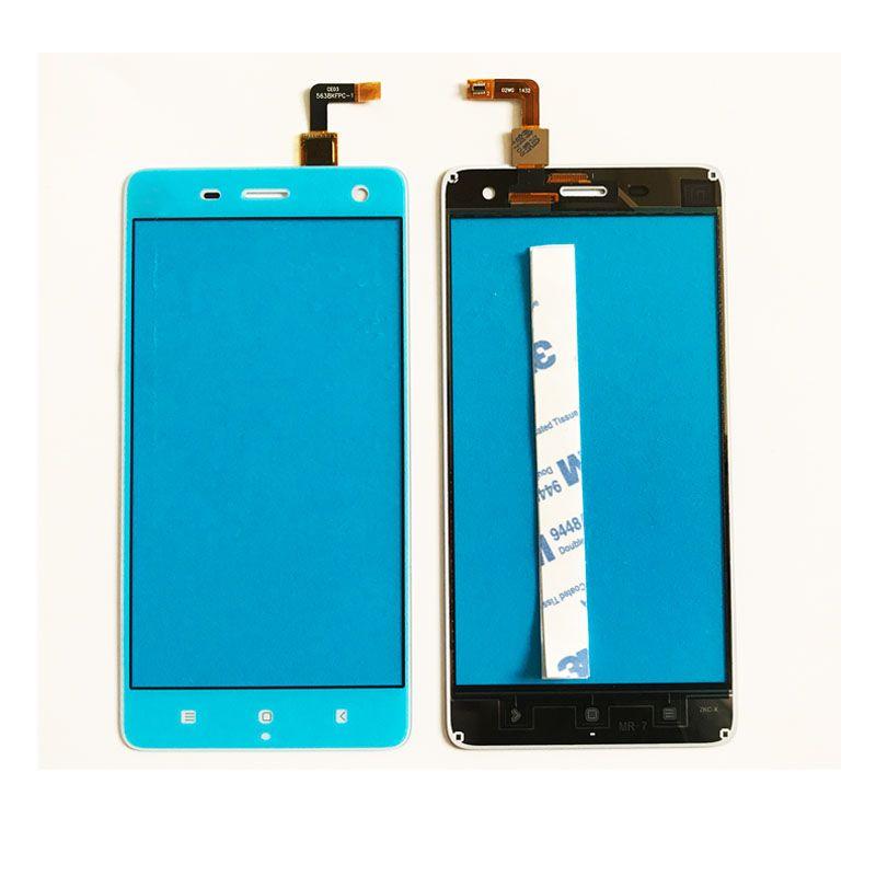 New For Xiaomi Mi4 Mi 4 Touch Screen Digitizer Glass TouchscreenPanel Sensor Glass Repair With 3M Tape