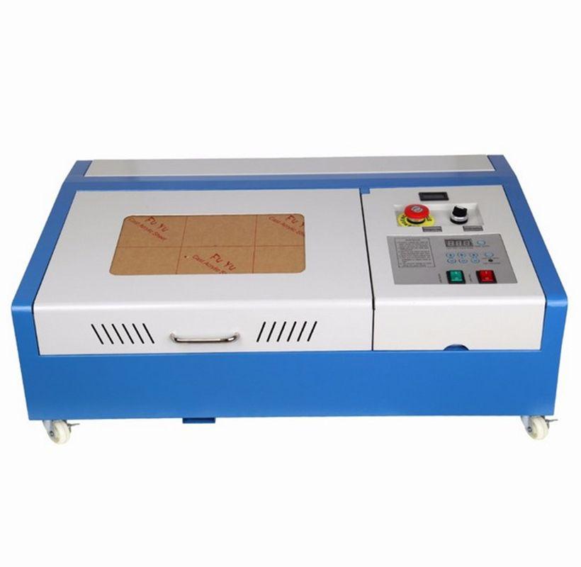 (Von EU und US-Lager) 40 W CO2 USB Laser Gravur Schneiden Maschine Graveur Holz Cutter