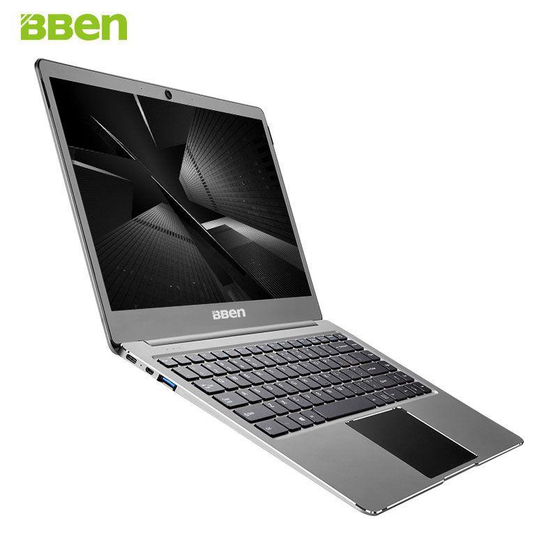 BBEN N14W Laptop 14.1'' Ultrabook Pre-installed Windows 10 Intel Celeron N3450 Quad Core 4GB RAM 64G ROM WiFi FHD Screen Type C