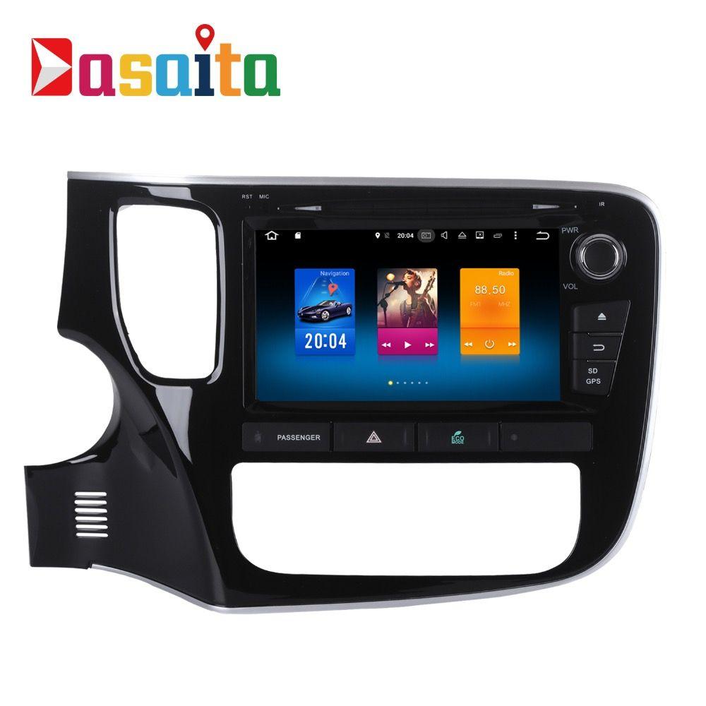 Car 2 din android GPS Navi for Mitsubishi Outlander 2014 2015 2016 auto-radio navigation multimedia 4Gb+32Gb PX5 8-Core