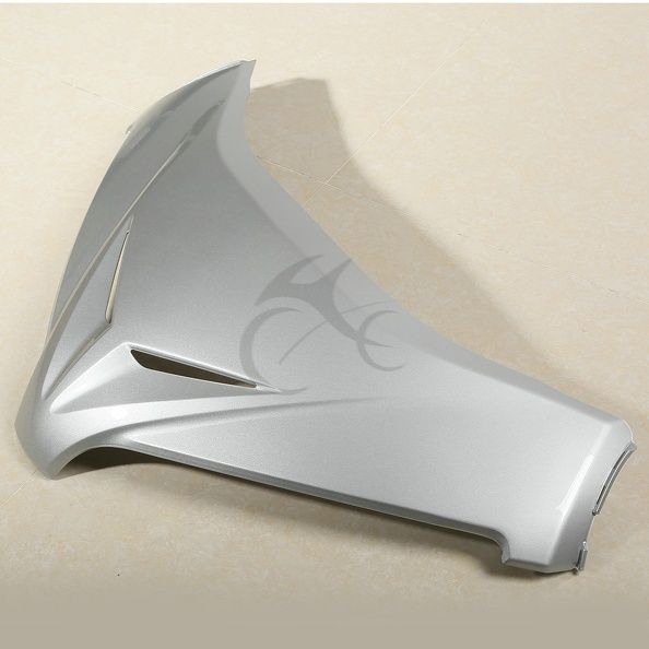 Grey Front Windshield Panel Accent Fairing For Honda GL1800 GOLDWING 12 13 14 15