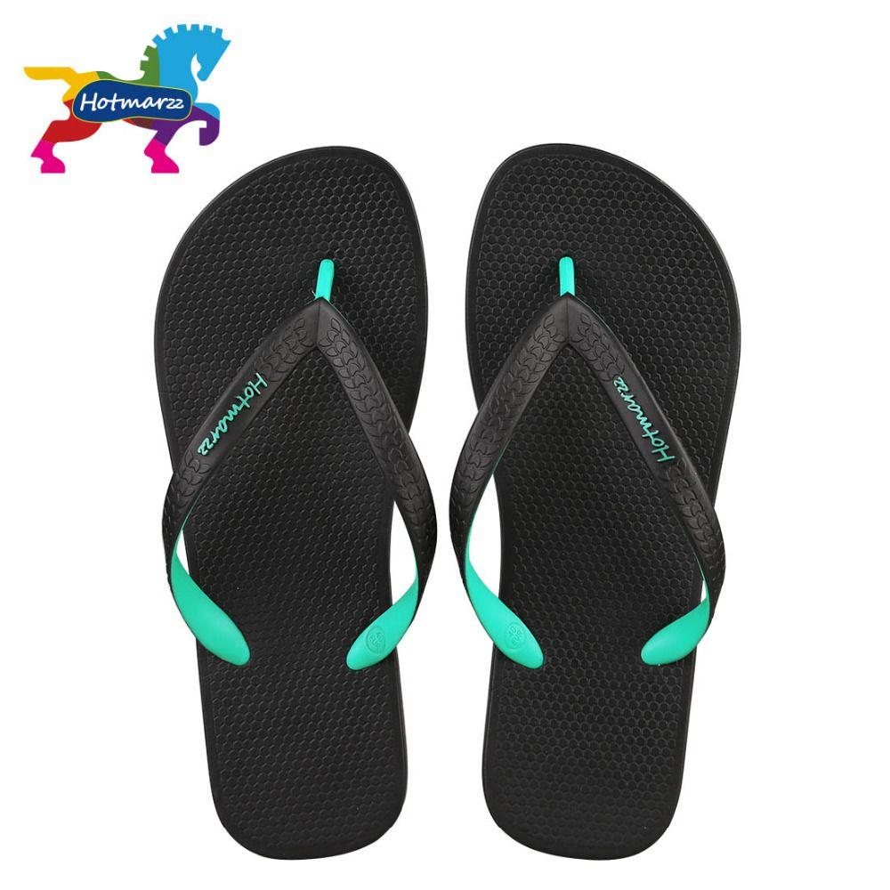Hotmarzz hommes sandales femmes unisexe pantoufles été plage tongs Designer mode confortable piscine voyage diapositives