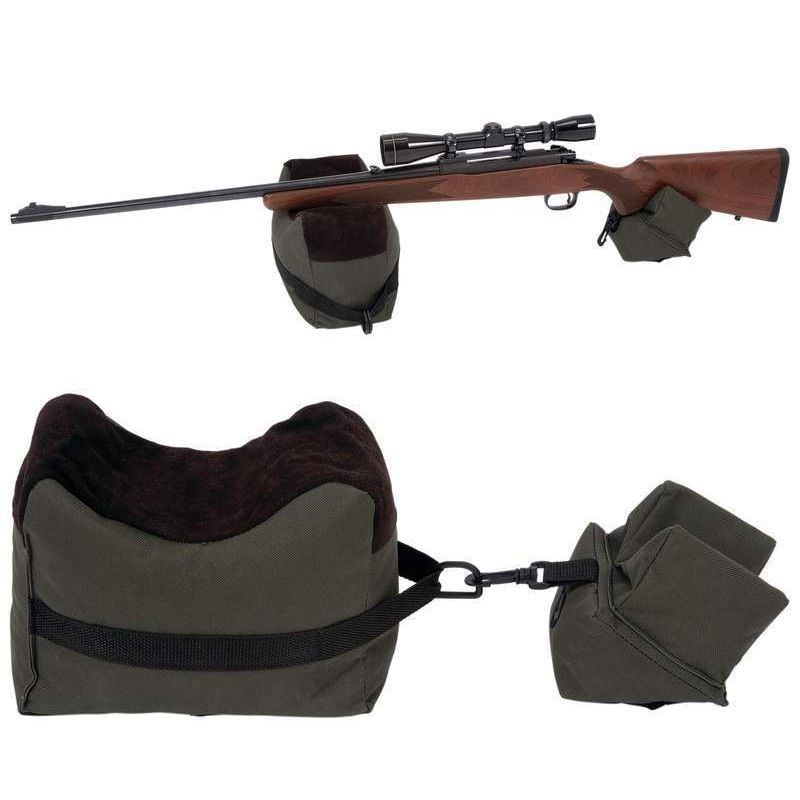 Portée de repos de pistolet Portable tir avant et arrière banc de repos sacs de cible de fusil Stand non rempli accessoires de fusil de chasse