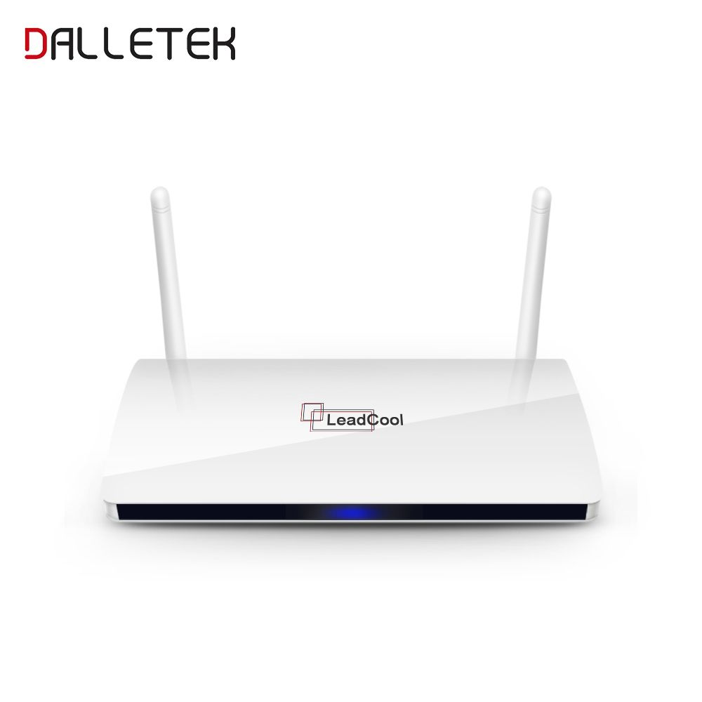 Dalletektv TV Box Leadcool Smart Android 6.0 TV Box 1GB 8GB Wifi Quad Core RK3229 Media Player Set-top Box