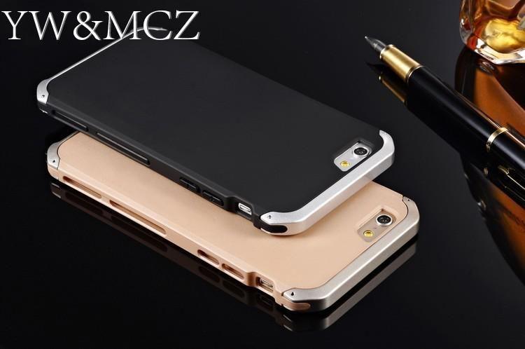 Étuis pour iPhone 7 8 plus 6s 6 en aluminium Ultra Slim pour iPhone XS Max X XR pour iPhone 5 5s SE